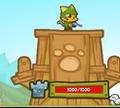 Игра Защита королевства кошек