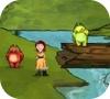 Игра Аника и ее игрушечный зайчик