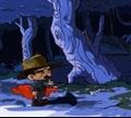 Игра Мистер Лунни - приключения в Джунглях