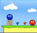 Игра Красный и синий шары