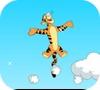 Игра Тигруля прыгает по облакам