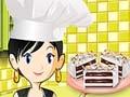 Игра Кулинарный класс Сары: Торт-мороженое