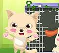 Игра Спасите котенка из заточения