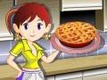 Игра Кулинарный класс Сары: Пирог с ревенем