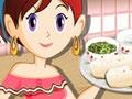 Игра Кулинарный класс Сары: Буритто