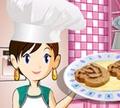 Игра Кулинарный класс Сары: Рулет с джемом