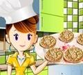 Игра Кулинарный класс Сары: Арахисовое печенье