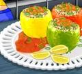 Игра Кулинарный класс Сары: Фаршированные перцы