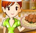 Игра Кулинарный класс Сары: Фалафель
