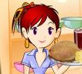 Игра Кулинарный класс Сары: Куриные сендвичи