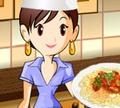 Игра Кулинарный класс Сары: Спагетти болоньезе