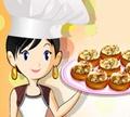 Игра Кулинарный класс Сары: Фаршированные грибы