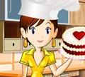 Игра Кулинарный класс Сары: Ягодно-ванильный торт