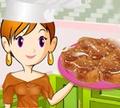 Игра Кулинарный класс Сары: Карамельный рулет