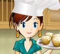 Игра Кулинарный класс Сары: Банановые кексы