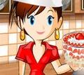 Игра Кулинарный класс Сары: Маленький десерт