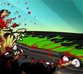 Игра Кровавая дорога