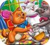 Игра Раскраска: Коты аристократы