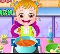 Игра Ребенок на кухне