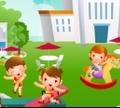 Игра Декорация школьного двора