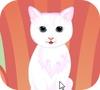 Game white kitty dressup