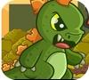 Игра Динозаврик-разрушитель
