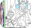 Игра Раскраска: Грандиозная уборка