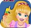 Игра Барби: Мороженое для животных