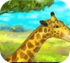 Игра Жираф в зоопарке