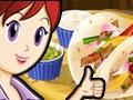 Игра Кулинарный класс Сары: Куриный фахитас