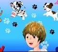 Игра Мальчик и щенок