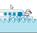 Игра Подводное приключение собаки