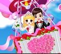 Игра Романтическая свадьба в небе