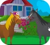 Game Horse Kissing