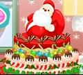 Игра Замороженный рождественский торт