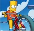 Игра Симпсоны: велосипедный заезд
