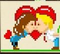 Игра Вышивка: День святого Валентина