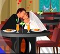 Игра Поцелуй за обеденным столом