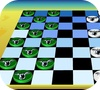 Game Checkers board game