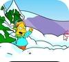 Игра Снежки с Симпсонами