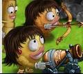 Игра Война смайликов - битва на кухне