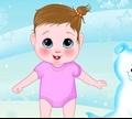 Игра Зимняя одежда для малыша