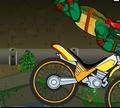 Игра Черепашки-Ниндзя на велосипедах