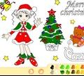 Игра Раскраска: Рождество