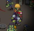 Игра Зараженные VS Выжившие: Рождество