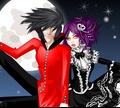 Игра Одеваем вампирскую пару