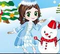 Игра Принцесса и снеговик