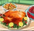 Игра Кулинарный класс Сары: рождественский ужин