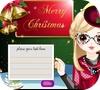Игра Дизайн Рождественской открытки
