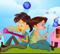 Игра Выстрел пузырями